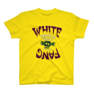 WHITE FANG 🐗/SKULL CANDY ☠️🍬[緑飴ver.] T-shirts