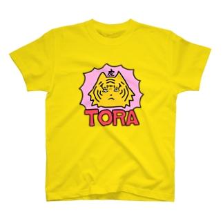 虎TORA T-shirts