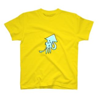いか(あつい) T-shirts