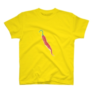 トウガラシの絵 T-shirts
