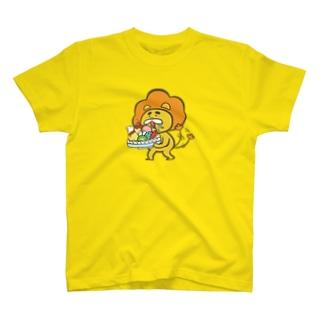 甘口ライオンTシャツ T-shirts