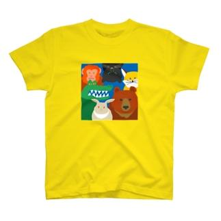 どうぶつ集合 T-shirts