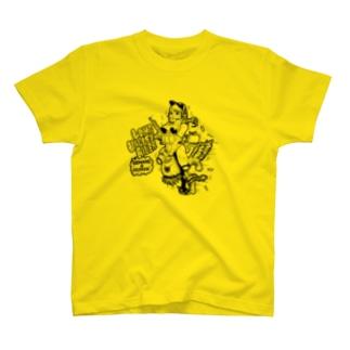 フライングアイガール T-shirts