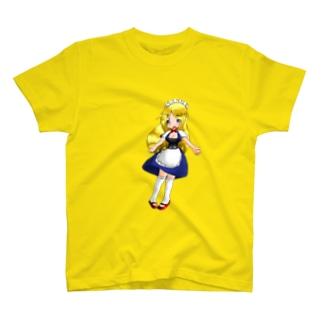 まっつん工房のメイド T-shirts