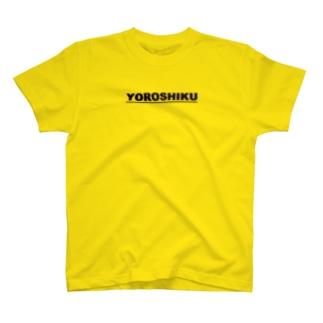 YOROSHIKU-02(横) T-shirts