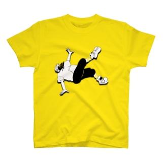 フリーフォール T-shirts
