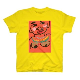 アフリカの女 T-shirts