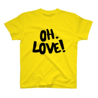 OH.LOVE YELLOW T-shirts