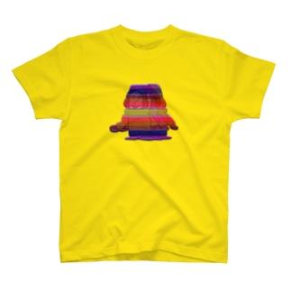 生きづらいぞ!ゴリ沢くんのレインボー・ゴリくん3人衆 T-shirts