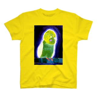 闇深いインコTシャツ T-shirts