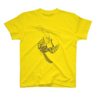 クイーン スケッチ風 T-shirts