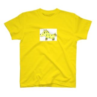おてんばホース(うまちゃん) T-shirts