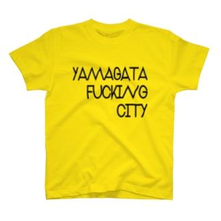 #6 YAMAGATA FU*KING CITY T-shirts