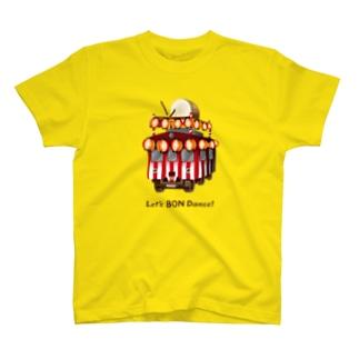 盆踊り電車 T-shirts