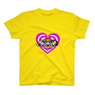 パワーパフガールズ T-shirts
