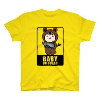 BABY on Board (くま) T-shirts