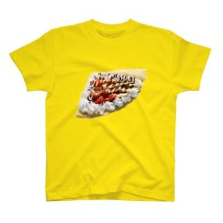 ストロベリーバナナクレープ T-shirts