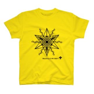 ミステリーサークル07(ブラックver) T-shirts