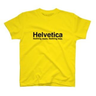 ヘルベチカ T-shirts