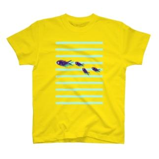 サカナサカナサカナ T-shirts