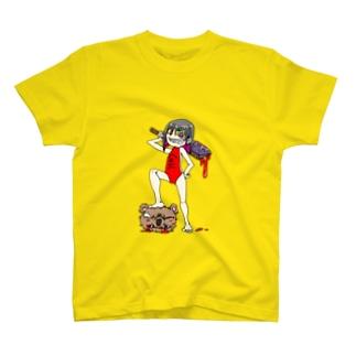 圧勝の金太郎 T-shirts