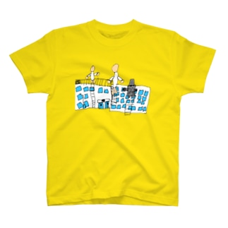 巨人と小学校 T-shirts