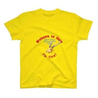 鹿骸骨 T-shirts
