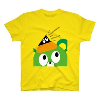 大崎一番太郎withスリスリくん T-shirts