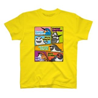 コミック風なことりたち T-shirts
