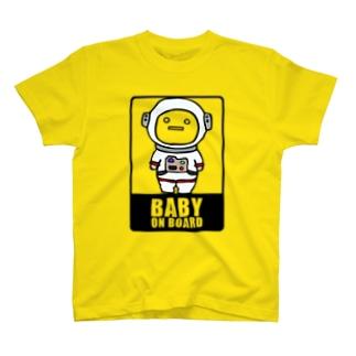 BABY on Board (宇宙服) T-shirts