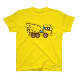 ゲンマイくんのミキサー車 T-shirts