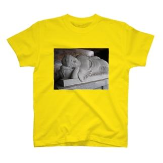 釈尊 涅槃像グッズ T-shirts