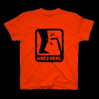 2BRO. 公式グッズストアの黒「KNEE HEAL」濃色TシャツTシャツ