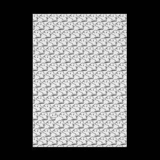 どどど素人のどどねこ-びっしり- Stickable tarpaulin