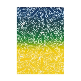 SILKコラージュ Stickable tarpaulin
