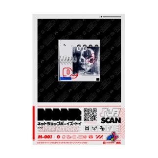 MAR M-001 Stickable poster