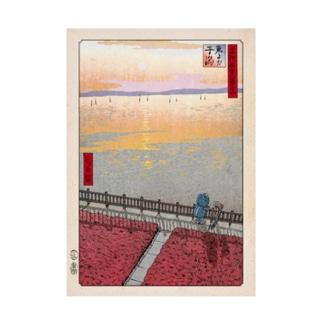 名所佐賀百景「東よか干潟」 吸着ターポリン
