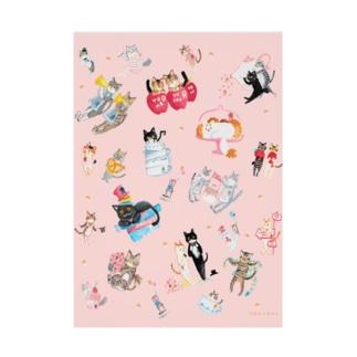 【HappyUnbirthday!】allmember Stickable tarpaulin