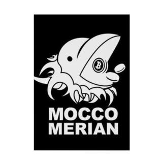 モッコメリアンロゴ by柚木勇魚 Stickable tarpaulin