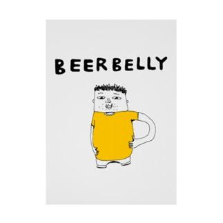ビール腹 吸着ターポリン