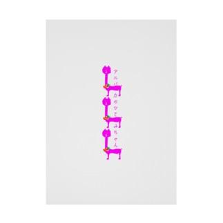 こでまりオンラインショップ Stickable poster