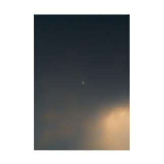 雲と月 吸着ターポリン