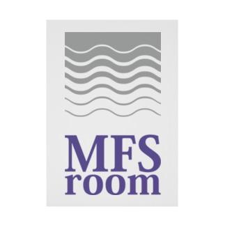 MFS room 3周年記念グッズ 吸着ターポリン