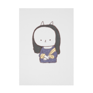 Aoko襲来のもにゃリザ Stickable tarpaulin