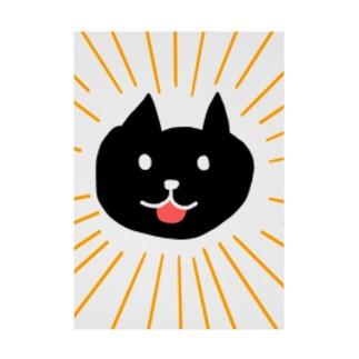 ばーん!猫 吸着ターポリン
