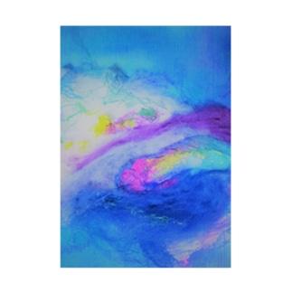 Rainbow Stickable tarpaulin