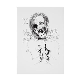 NeverForgive2 Stickable poster