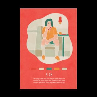 新井リオの【2019.03.26】新井リオの英語日記グッズ Stickable tarpaulin