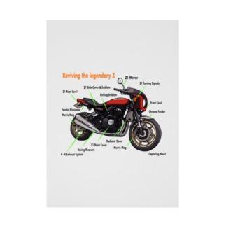Doremi 900RS Red Parts List Stickable poster