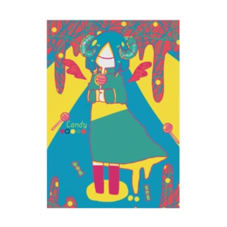 Candy Stickable tarpaulin